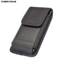 Telefoon Pouch Voor iPhone X XS 11 11pro max Case Belt Clip Holster Leather Cover Tassen voor Huawei P30 20 mate10 20 pro Kaarthouder