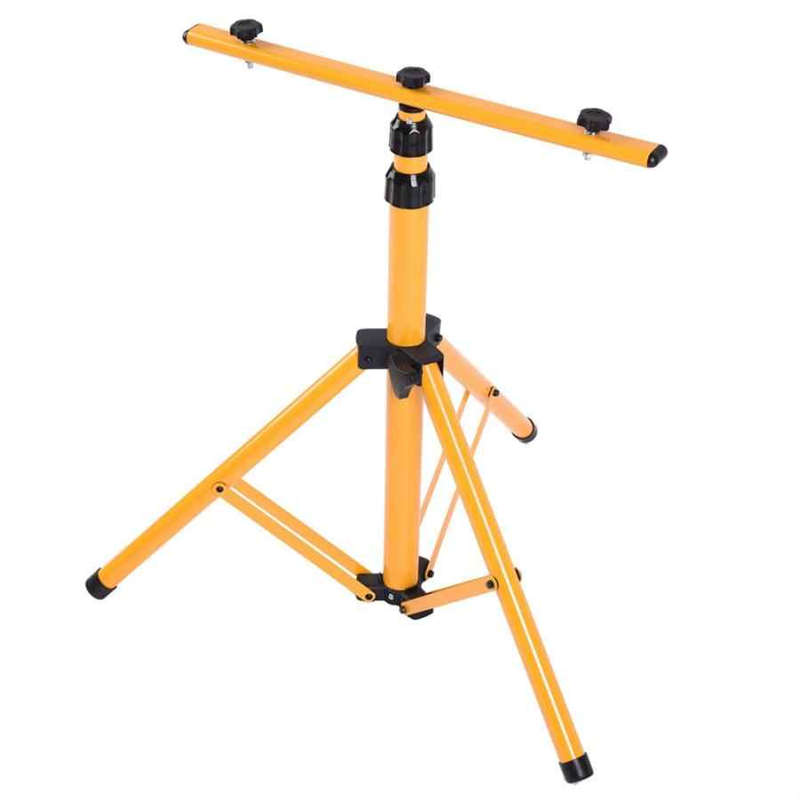 Work Light Tripod Stand Telescopic Twin  Tripod Stand for LED Flood Light Construction Site Work  Lighting