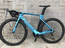 Costelo aeromachine monocoque uma peça molde disco de estrada da bicicleta carbono completo bicicleta bicicletta r8000 grupo