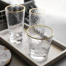 Очки для воды бокалы вина горячая Распродажа очки с золотой