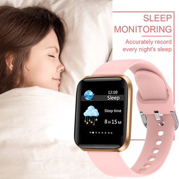 LIGE New Smart Watch Women Heart Rate Blood Pressure Monitoring Fitness Tracker Is Suitable For Android IOS Ladies Smart Watches 4