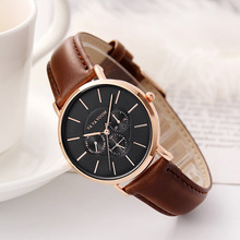 Quartz Watches Women Fashion Casual Simple Quartz Wristwatches Sport Leather Band Ladies Vintage Watch High Quality Clock Female quartz watch clock woman high quality cute cat printed women s watches faux leather analog ladies girl gift casual sport watches