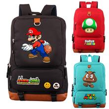 Mochila Super Mario plecak szkolny torby dla nastolatków dziewczyny chłopcy Galaxy przestrzeń codzienne Mochila plecak na laptopa torby na co dzień podróży tanie tanio abay Oxford Miękki uchwyt Embossing Żywica siatki roblox Backpack Poliester Plecaki Unisex Miękka None Moda Solidna torba