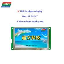 DWIN – écran tactile LCD intelligent HMI 5 pouces, module d'affichage TFT 480x272, TTL UART, panneau intelligent