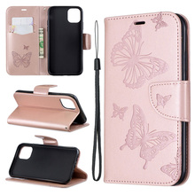 2019 Butterfly Flip Case For Iphone 11 pro max Cover Wallet PU Leather Bag For Coque Iphone 8 7 6 Plus 6s Case Cell Phone Book цена 2017