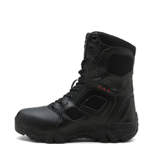 Men Tactical Military Boots Desert Army Hiking Boot Training Safety Sneakers Plus Size Zipper Jungle