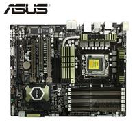 LGA 1366 Original ASUS SaberTooth X58 1866Mhz 1600 6 x DDR3 Motherboard ATX 24GB PCI E X16 Desktop Computer mainboard Platte Verwendet|Motherboards|   -