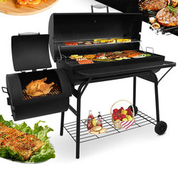 Household outdoor get together Grill Commercial Grill patio balcony Smoked oven American charcoal Barbecue