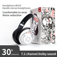 Headset Gaming Earphone PS4 Tablet Laptop Hifi Stereo Noise-Canceling Bluetooth Wireless