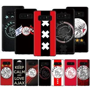 EWAU Ajax Team Soft TPU Phone Cover Case For Samsung Galaxy A3 A5 A6 7 8 9 2018 A10S 20S 30S 40S 50S 60 70