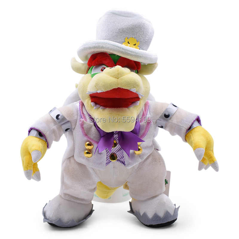 סופר מריו אודיסיאה Bros Luigi חתונה שמלת Bowser Koopa יושי קפטן אפרסק Peluche בובת קטיפה רך ממולא צעצוע מתנה לחג המולד