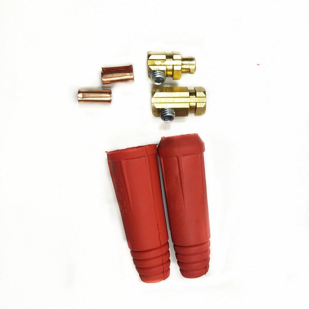 Разъем для сварочного кабеля DKJ DKL стиль #7-#4/0, 10-95sqmm 250/300/400/500A быстрый монтаж кабельный разъем/наконечник/розетка