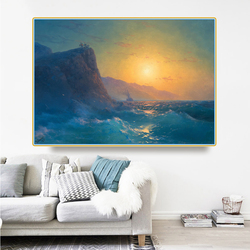 Holover Canvas Oil Painting Ivan Aivazovsky