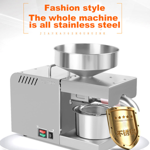 Image 3 - YTK Oil Press Full Automatic Household Flax Seed Press Peanut Oil Press Stainless Steel Cold Press Oil Press 1500W (Max)