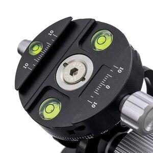 Image 5 - อลูมิเนียม 360 องศาขาตั้งกล้องถ่ายภาพพาโนรามาดูนกพร้อมQuick Releaseแผ่นสำหรับSirui L10 RRS MH 02