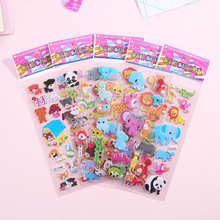 3D Cartoon Animal Bubble Stickers Girls Stickers Toys Colorful Cartoon Toys For Children Boy Girl Waterproof DIY Sticker Toys cheap CN(Origin) dropshipping wholesale