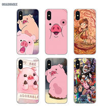 Pato Gravity Falls Cartoon Cover Cell Phone Case For Huawei Mate 7 8 9 10 Pro 20 Lite Y3 Y5 Y6 II Y7 Prime Y9 GR5 2017 2018 2019(China)