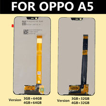 For OPPO A5 LCD Display Panel Touch Screen Digitizer Assembly For OPPO A5LCD Display touch panel with matrix for highscreen spade lcd display and touch screen digitizer panel assembly for highscreen spade