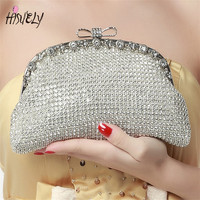Damen hand tasche party VOLLER diamanten glänzende temperament bankett kupplung/EVENIING MINI tasche HISUELY WY103-in Taschen mit Griff oben aus Gepäck & Taschen bei