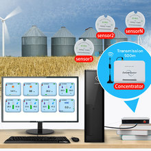 Датчик влажности зерна 433/868/915 МГц датчик влажности температуры и влажности беспроводной регистратор данных для силосов зерна