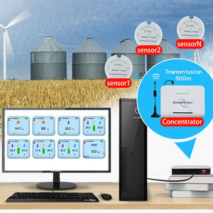 Image 1 - Датчик влажности зерна 433/868/915 МГц датчик влажности температуры и влажности беспроводной регистратор данных для силосов зерна