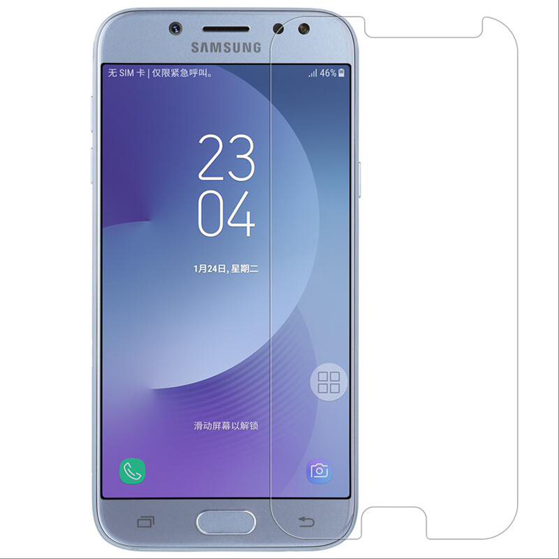 Tempered Glass For <font><b>Samsung</b></font> Galaxy J5 2017 <font><b>J530F</b></font>/<font><b>DS</b></font> J530Y J530FM J530 J5 Pro (2017) Screen Protector Protective Film Glass image