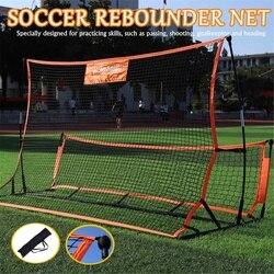 Ziel Fußball Fußball Rebounder Net Volley Ausbildung Tragbare Fußball-Ball Ziel Rebound Fuß Hilfe-Tool