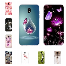 For Samsung Galaxy J3 2016 2017 Case Soft TPU Silicone Cute Cartoon Patterned J5 Cover Shell