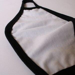 Image 5 - Unisex Mond Masker Katoen Blend Mannen Vrouwen Masker Gezicht Cover Zwart