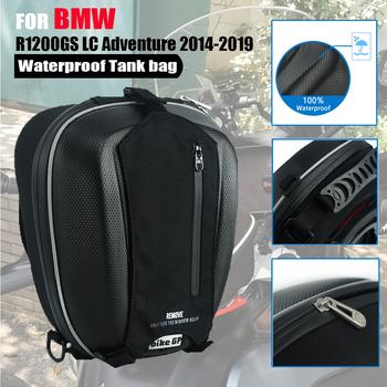 Dla BMW R1200GS LC ADV R 1200 GS Adventure 2014-2019 zbiornik do motocykla torba wielofunkcyjny telefon wodoodporny pojemnik na bagaże nawigacyjne tanie i dobre opinie MYiAdv 25inch 840D nylonl Leather Zbiornik torby 0 77kg Waterproof 24inch For BMW R1200GS LC ADV R 1200 GS Adventure 2014-2019