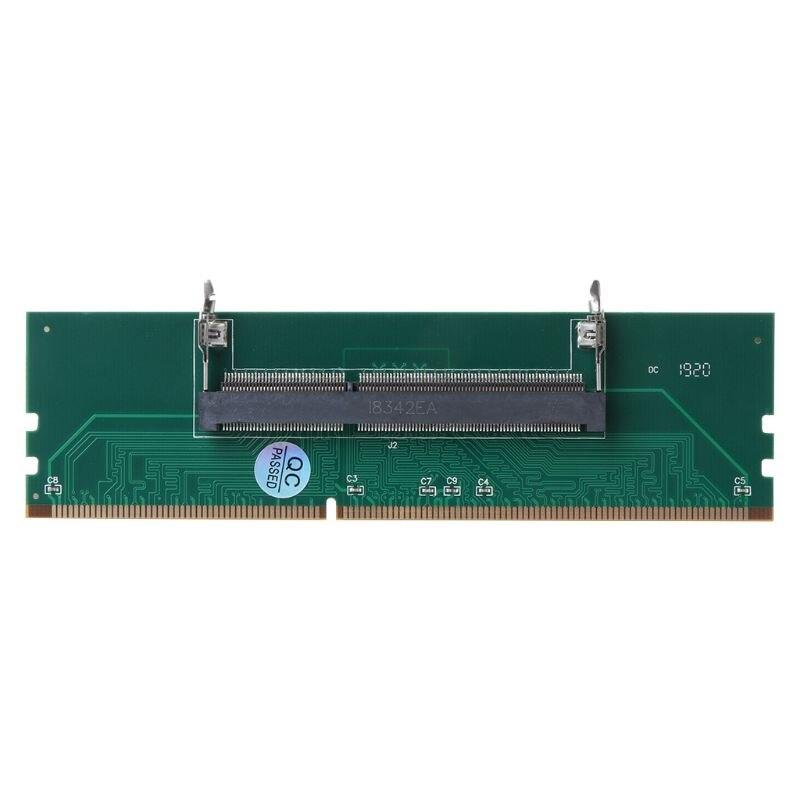 Адаптер DDR3 SO DIMM для настольного компьютера, разъем DIMM, карта адаптера памяти от 240 до 204P, аксессуары для компонентов настольного компьютера