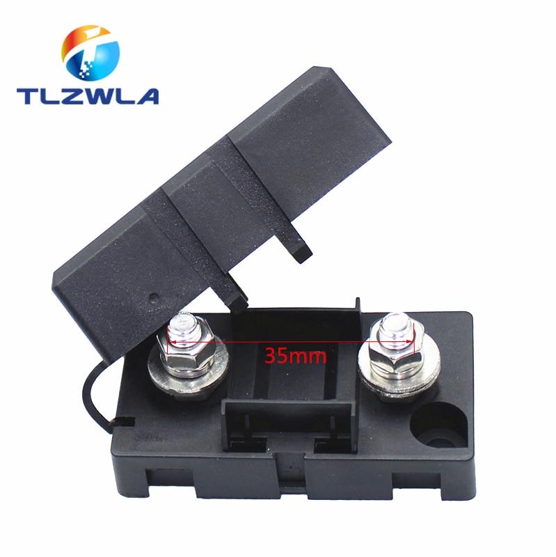 ANS-8 trąbka widelec typ wtyczki uchwyt bezpiecznika 52x27.5mm podstawa płyty bezpieczeństwa bagażnik samochodowy skrzynka bezpieczników z mechanizmem włączania