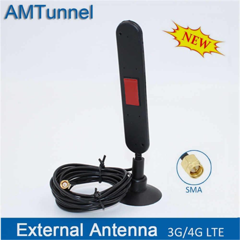 4G מודם אנטנת 3G LTE אנטנת WiFi SMA זכר 16dBi 3M כבל 700-2700Mhz עבור huawei B310 B315 ZTE dongle נתבים