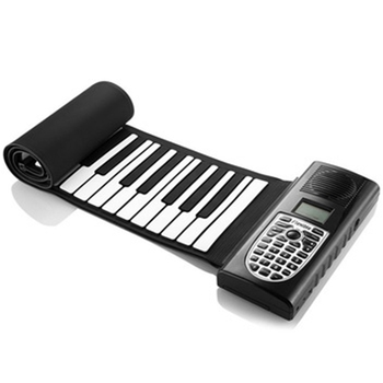 Electric Roll Up Piano Portable Foldable 61 Keys Electronic Music Keyboard Piano