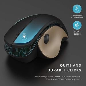 Image 5 - Gelée peigne 2.4G USB souris sans fil souris silencieuse souris verticale ergonomique pour Windows ordinateur portable pc de bureau optique Mause