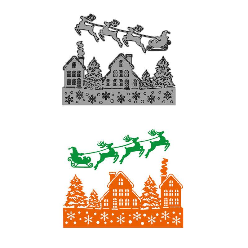 CH חדש הגעה חג המולד עץ Ⅱ מתכת חיתוך מת שבלונות עבור רעיונות/אלבום תמונות בולים דקורטיבי הבלטות כרטיסי DIY