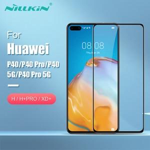 Image 2 - Voor Huawei P40 Pro Glas Screen Protector Nillkin Verbazingwekkende H + Pro/Xd + 9H Voor Huawei P40 gehard Glas Protector Voor Huawei P40 5G
