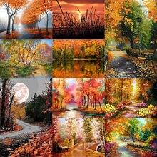Картина по номерам для взрослых природные пейзажи Сделай Сам