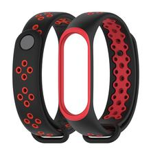"Xiaomi Mi Band 4/3 Smart Bracelet 0.95"" AMOLED Color Screen 135mAh 50M Waterproof 6-sport modes Smart Wristband With Strap(China)"
