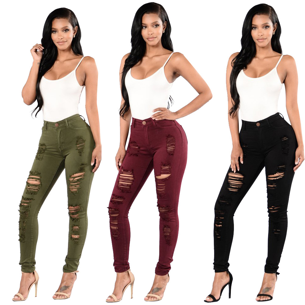 COLDKER Women Pencil Pants Plus Size Casual Streetwear  Cloth For Ladies High Waist Slim Fit Clothing  Female