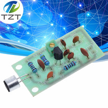 TZT FM Transmitter Module Mini Wireless Microphone Ham Radio Frequency PCB Board 91-103MHz 3V-5V DC for DIY(China)