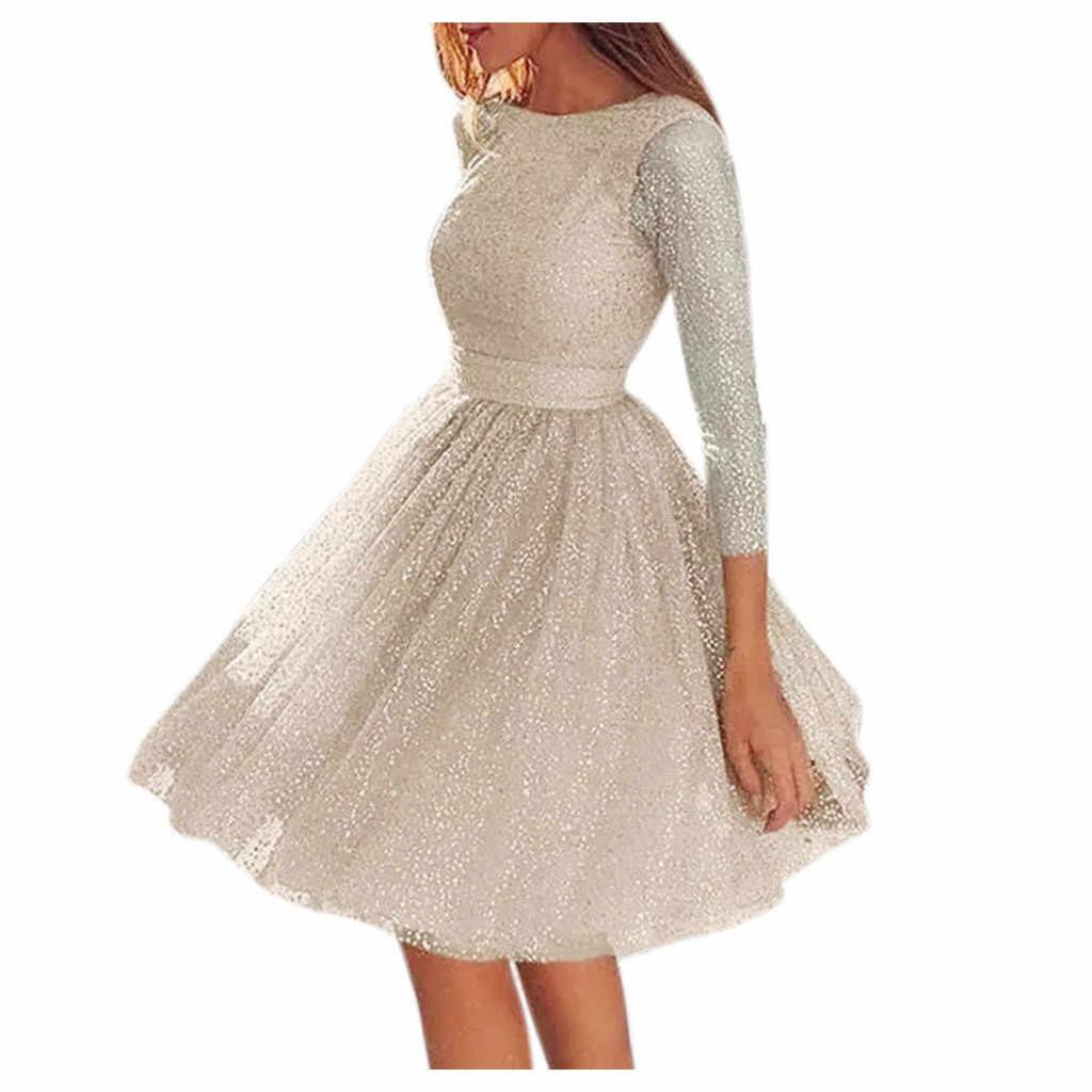 Vrouwen Sling Cross Wedding O-hals Elegante Feestavond Slim Hollow Kanten Jurk Dropshipping Winter 2020 Mode werkkleding