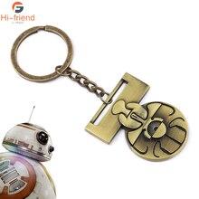 Star Wars Medal of Yavin Luke Skywalker Keychain Han Solo Chewbacca Replica Alloy Accessories Gift Souvenir