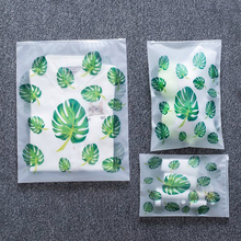 купить Transparent Plant Cosmetic Bag Travel Makeup Case Women Zipper  Storage Pouch Toiletry Wash Kit Beauty Bath Box Makeup Bags дешево