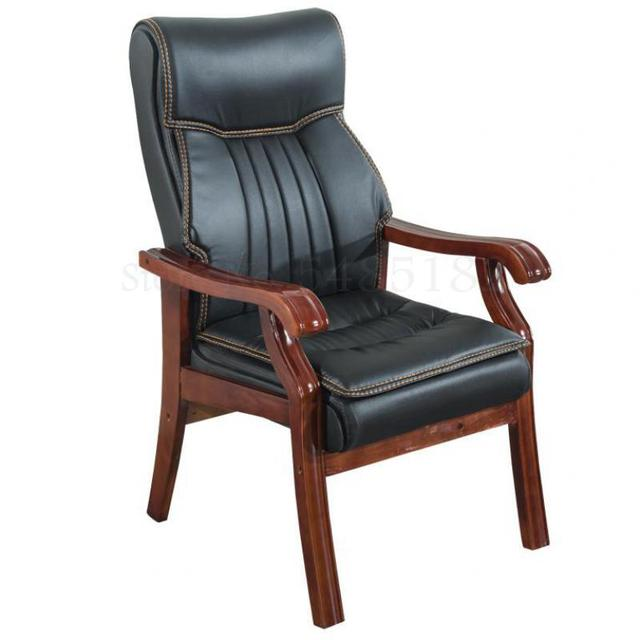 Solid Wood Computer Home Office Chair  1
