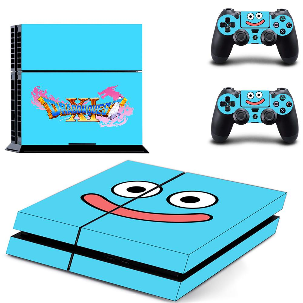 Dragon Quest PS4 Stickers Play station 4 Skin Sticker Game Decals For PlayStation 4 PS4 Console & Controller Skins Vinyl image