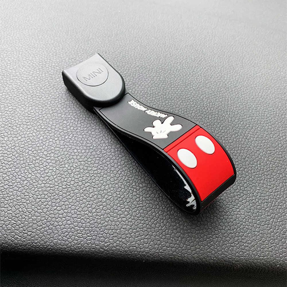 Couverture de clé de voiture de Style d'abs JCW pour le mini porte-clés de clé de couverture de clé de cooper pour la mini matière plastique de cooper F55 F56 F57 F54 F60 jcw
