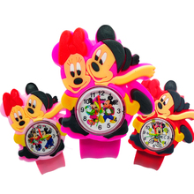 Dropship Twin Mice Children Watch Learning Time Clock Kids W