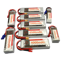 Batteria LiPo 11.1V RC 3S 1300 1500 1800 2200 2600 3300 3500 3800 4200 4500 5000 6000 10000 12000 16000 22000 Drone aereo