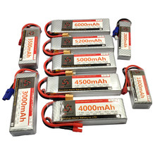 11.1V RC LiPo Battery 3S 1300 1500 1800 2200 2600 3300 3500 3800 4200 4500 5000 6000 10000 12000 16000 22000 Airplane Drone